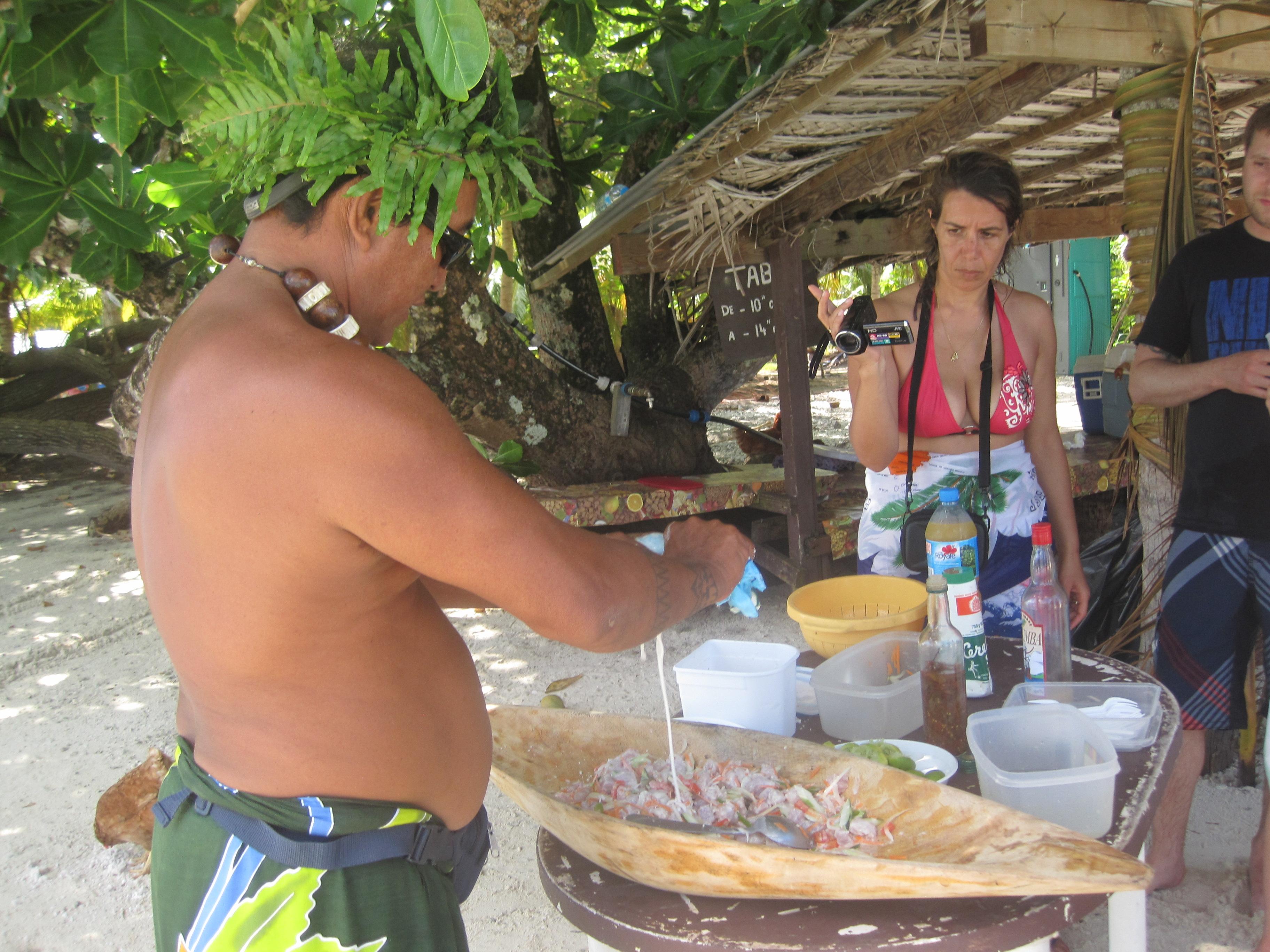 Intalnire cu omul polinezian
